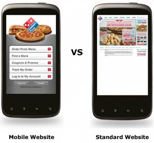 Mobile-Vs-Standard-Websites