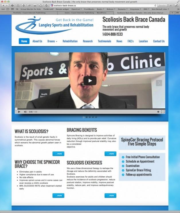 Scoliosis Back Brace Canada